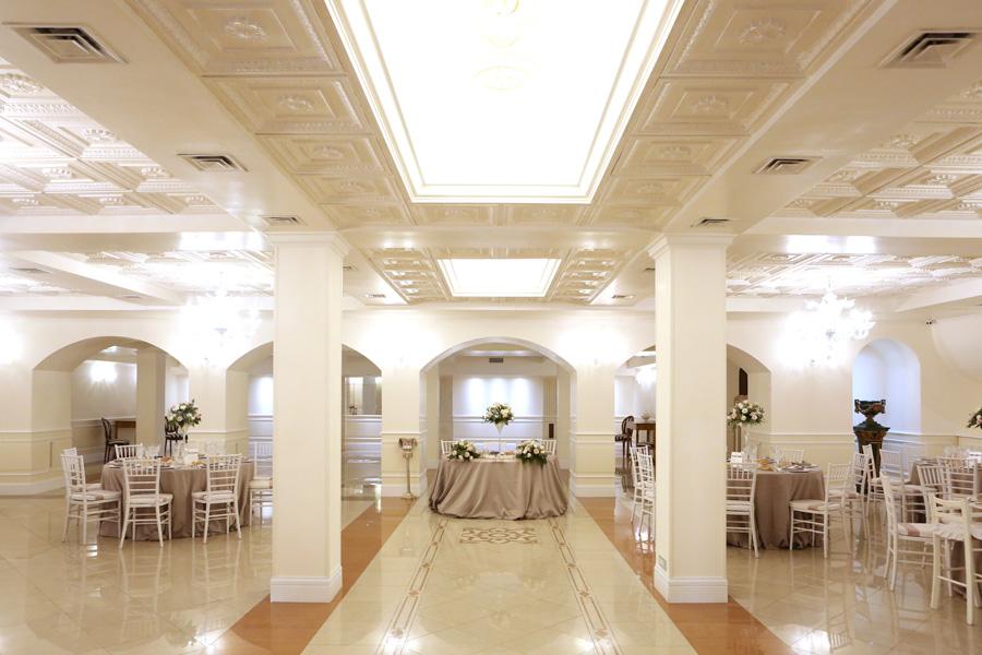 interno villa per matrimonio a roma
